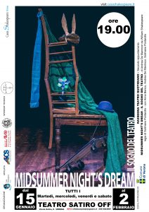 Midsummer Night's Dream // Teatro Quotidiano @ Teatro Satiro OFF